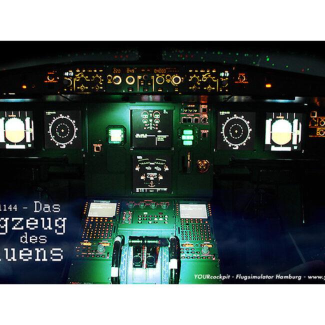 DAS FLUGZEUG DES GRAUENS – Flugsimulator Hamburg