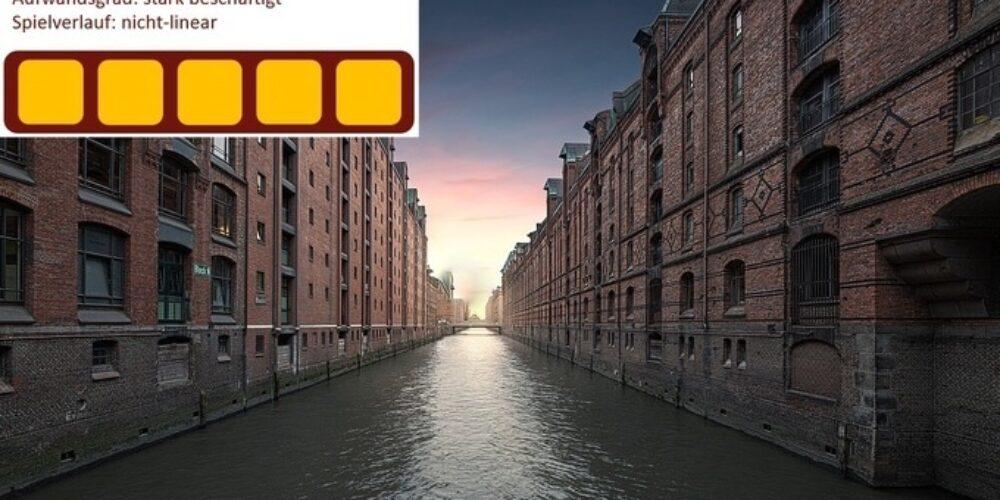 Drei neue Räume in Hamburg