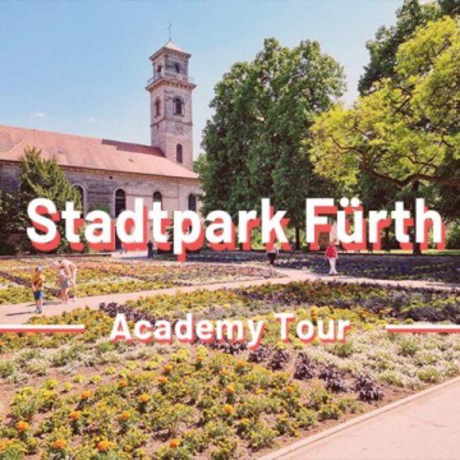 Stadtpark Fürth Rätseltour Sir Peter Morgan