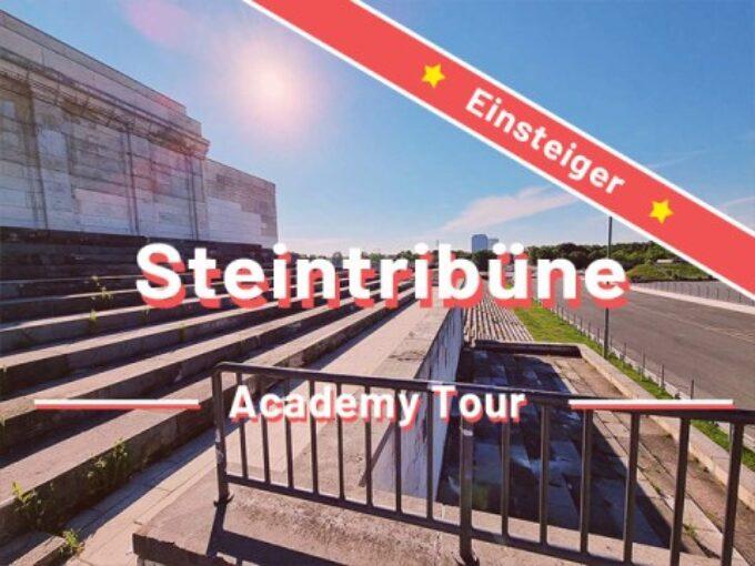 Steintribüne und Zeppelinfeld Nürnberg – Einsteigertour- Rätseltour – Sir Peter Morgan